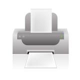 вектор принтера иконы Стоковые Фото