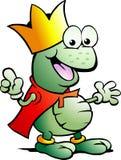 вектор принца иллюстрации лягушки Стоковое Изображение RF
