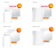 вектор продукта рекламы иллюстрация штока