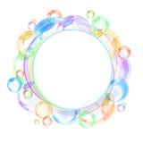 вектор пузыря предпосылки цветастый Стоковая Фотография RF