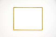 Вектор пути клиппирования стены рамки музея современного искусства изолированный белый Стоковое Изображение