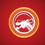 Вектор дракона Китаев Стоковое Фото