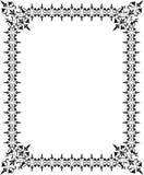 вектор рамки абстрактных элементов конструкции флористический Стоковые Фото