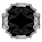 вектор рамки богато украшенный Стоковые Изображения RF