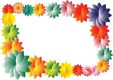 вектор рамки цветков Стоковые Фото