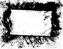 вектор рамки brushe граници Стоковая Фотография RF