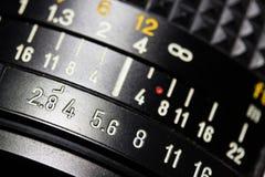 вектор радуги объектива иллюстрации влияния eps10 камеры Стоковые Фотографии RF