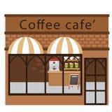 Вектор ресторана кофе бесплатная иллюстрация