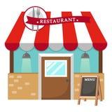 Вектор ресторана иллюстрация штока