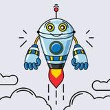 Вектор робота Стоковое Изображение