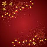 вектор рождества веселый Стоковое фото RF