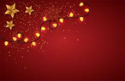 вектор рождества веселый Стоковое Фото
