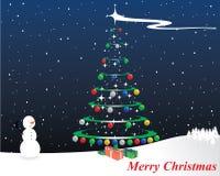 вектор рождества веселый Бесплатная Иллюстрация