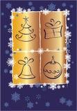 вектор рождества карточки Стоковое фото RF