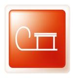 вектор рождества кнопки Стоковая Фотография RF