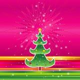 вектор рождества розовый Стоковые Изображения