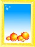 вектор рождества шариков Стоковые Фотографии RF