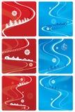 вектор рождества i предпосылки Стоковая Фотография RF
