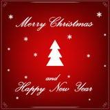 Вектор рождественской елки - красота украшения запаса искусства иллюстрация вектора