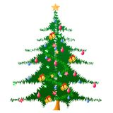 вектор рождественской елки Стоковые Фотографии RF