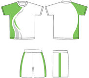вектор рубашки Стоковые Фотографии RF