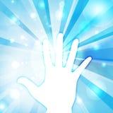 Вектор руки веры Стоковые Фотографии RF