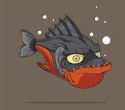 Вектор рыб Piranha Стоковое Изображение