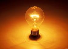 вектор света иллюстрации идеи принципиальной схемы шарика Стоковое Изображение RF
