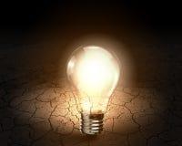 вектор света иллюстрации идеи принципиальной схемы шарика Стоковые Фотографии RF