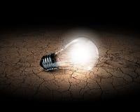 вектор света иллюстрации идеи принципиальной схемы шарика стоковые фото