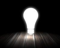 вектор света иллюстрации идеи принципиальной схемы шарика Стоковое фото RF