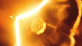 вектор света иллюстрации идеи принципиальной схемы шарика сток-видео