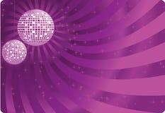 вектор света диско шарика Стоковые Изображения RF