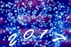 вектор света bokeh абстрактной предпосылки голубой Стоковая Фотография RF