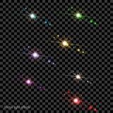 Вектор-свет-влияния Стоковая Фотография RF