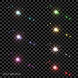 Вектор-свет-влияния-B Стоковая Фотография RF
