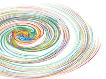 вектор свирли круга предпосылки Стоковая Фотография RF
