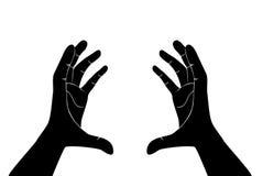 Вектор свободных рук Стоковое Изображение RF