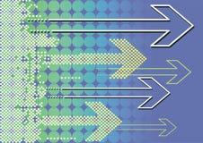 вектор связи предпосылки иллюстрация штока