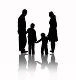 вектор семьи иллюстрация штока