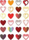 вектор сердца Стоковые Изображения