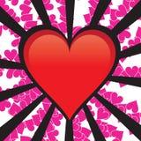 вектор сердца Стоковые Изображения RF