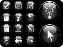 вектор серии иконы Стоковое Изображение RF
