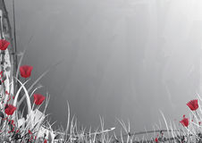 вектор серого цвета сада Стоковое фото RF