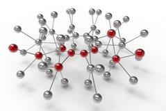 вектор сети иллюстрации конструкции принципиальной схемы Стоковые Изображения