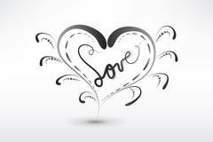 Вектор символа валентинок сердца любов стоковое фото