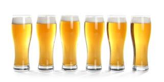 вектор символа иллюстрации стекел конструкции цвета пива стоковая фотография