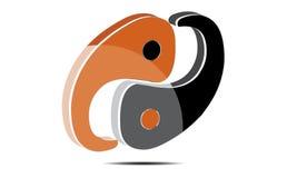 вектор символа логотипа 3D Абстрактн Сферы Логотипа Rounded Globle Кругов Логотипа Шаблона Современн Компании стоковые фотографии rf