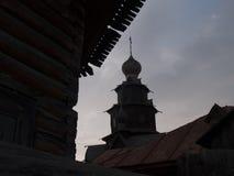 вектор силуэта церков Стоковые Изображения