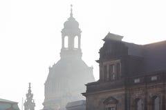 вектор силуэта церков Стоковая Фотография